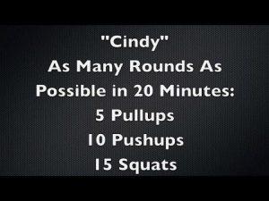 CrossFit Cindy Score Needs Improvement
